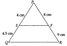 MP Board Class 10th Maths Solutions Chapter 6 Triangles Ex 6.2 4