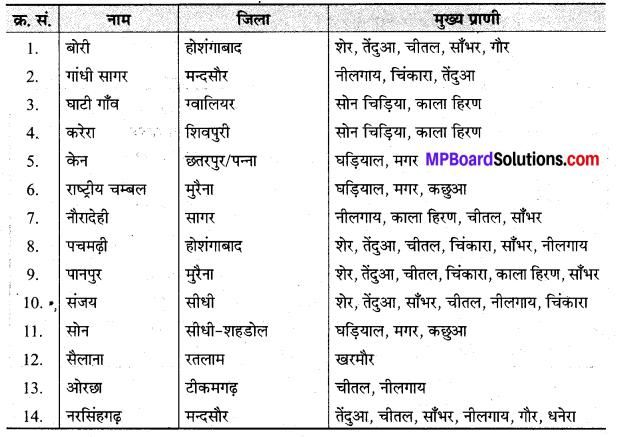 MP Board ClaMP Board Class 9th Social Science Solutions Chapter 6 भारत प्राकृतिक वनस्पति एवं वन्य जीव - 3ss 9th Social Science Solutions Chapter 6 भारत प्राकृतिक वनस्पति एवं वन्य जीव - 3