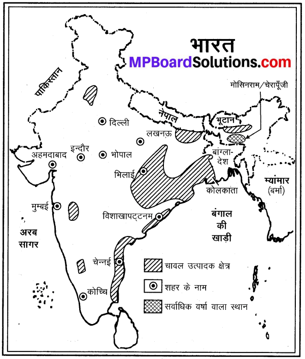 MP Board Class 9th Social Science Solutions Chapter 8 मानचित्र पठन एवं अंकन - 6