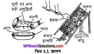 MP Board Class 6th Science Solutions Chapter 5 पदार्थों का पृथक्करण 2