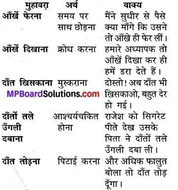 Mp Board Class 5 Hindi Sugam Bharti Solution