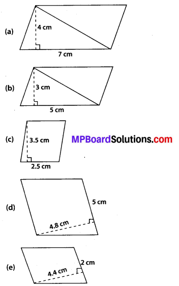 MP Board Class 7th Maths Solutions Chapter 11 Perimeter and Area Ex 11.2 1