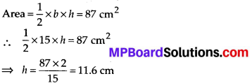 MP Board Class 7th Maths Solutions Chapter 11 Perimeter and Area Ex 11.2 6