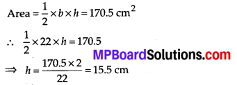 MP Board Class 7th Maths Solutions Chapter 11 Perimeter and Area Ex 11.2 8