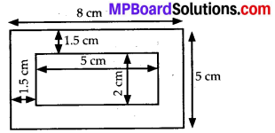 MP Board Class 7th Maths Solutions Chapter 11 Perimeter and Area Ex 11.4 3