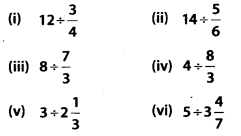 MP Board Class 7th Maths Solutions Chapter 2 Fractions and Decimals Ex 2.4 1