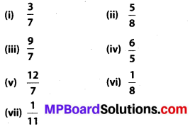 MP Board Class 7th Maths Solutions Chapter 2 Fractions and Decimals Ex 2.4 3