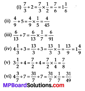 MP Board Class 7th Maths Solutions Chapter 2 Fractions and Decimals Ex 2.4 5