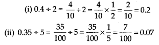 MP Board Class 7th Maths Solutions Chapter 2 Fractions and Decimals Ex 2.7 1