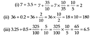 MP Board Class 7th Maths Solutions Chapter 2 Fractions and Decimals Ex 2.7 3