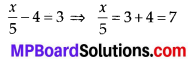 MP Board Class 7th Maths Solutions Chapter 4 Simple Equations Ex 4.4 2