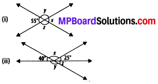 MP Board Class 7th Maths Solutions Chapter 5 Lines and Angles Ex 5.1 7