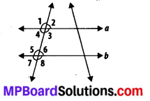 MP Board Class 7th Maths Solutions Chapter 5 Lines and Angles Ex 5.2 1