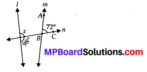 MP Board Class 7th Maths Solutions Chapter 5 Lines and Angles Ex 5.2 11