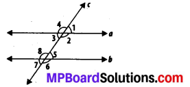 MP Board Class 7th Maths Solutions Chapter 5 Lines and Angles Ex 5.2 2