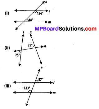 MP Board Class 7th Maths Solutions Chapter 5 Lines and Angles Ex 5.2 7