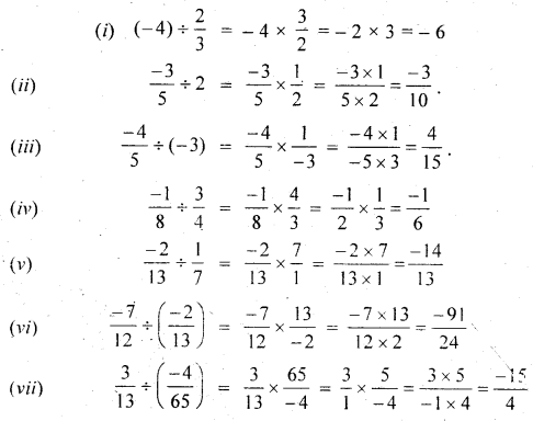 MP Board Class 7th Maths Solutions Chapter 9 Rational Numbers Ex 9.2 11