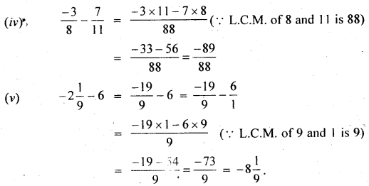 MP Board Class 7th Maths Solutions Chapter 9 Rational Numbers Ex 9.2 7