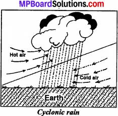 Make A Diagram Of Rain Gauge Class 7 MP Board