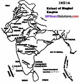 MP Board Class 7th Social Science Solutions Chapter 22 Aurangzeb and the Decline of the Mughal Empire