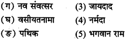 MP Board Class 8th Hindi Bhasha Bharti विविध प्रश्नावली 3 2
