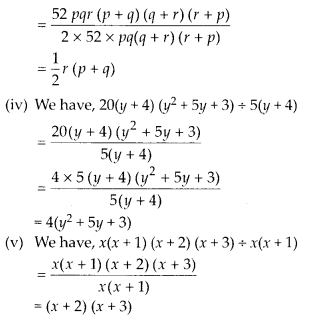 MP Board Class 8th Maths Solutions Chapter 14 Factorization Ex 14.3 5