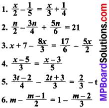 MP Board Class 8th Maths Solutions Chapter 2 एक चर वाले रैखिक समीकरण Ex 2.5 img-1