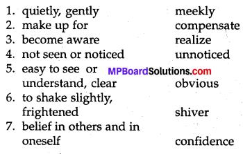 Mp Board Class 8 English Chapter 7
