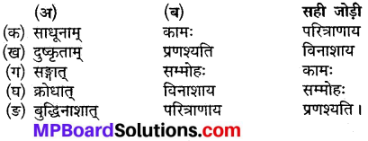 MP Board Class 9th Sanskrit Solutions Chapter 13 गीतादर्शनम् img-1
