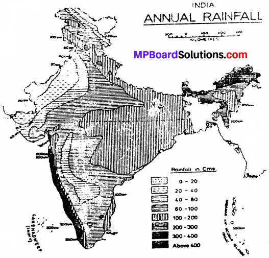 MP Board Class 9th Social Science Solutions Chapter 5 India Climate - 2