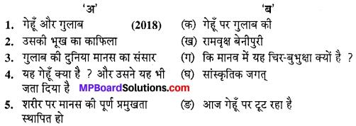 MP Board Class 10th Hindi Navneet Solutions गद्य Chapter 4 गेहूँ और गुलाब img-1