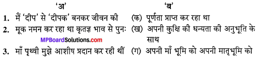 MP Board Class 10th Special Hindi Sahayak Vachan Solutions Chapter 10 दीपक की आत्मकथा img-1