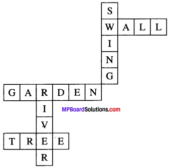 Class 6 English Chapter 2 The Swing MP Board