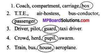 The Crowded Train Mp Board Lesson 5 Class 7th