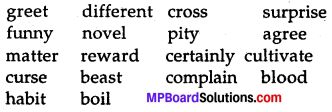Class 7 English Chapter 13 Question Answer MP Board