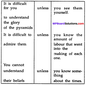 MP Board Class 7th Special English Chapter 18 The Great Pyramid 3
