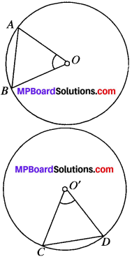 MP Board Class 9th Maths Solutions Chapter 10 Circles Ex 10.2 img-1