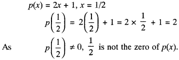MP Board Class 9th Maths Solutions Chapter 2 Polynomials Ex 2.2 img-2