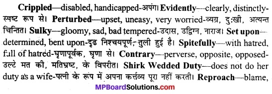 MP Board Class 11th English A Voyage Solutions Chapter 19 Mirabai 4