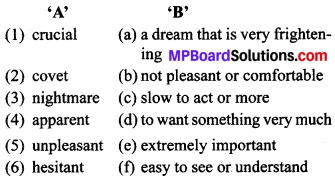 MP Board Class 9th General English The Spring Blossom Solutions Chapter 8 The Second Chance 1