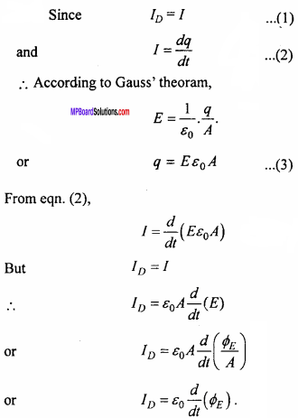 MP Board 12th Physics Important Questions Chapter 8 Electromagnetic Waves 5