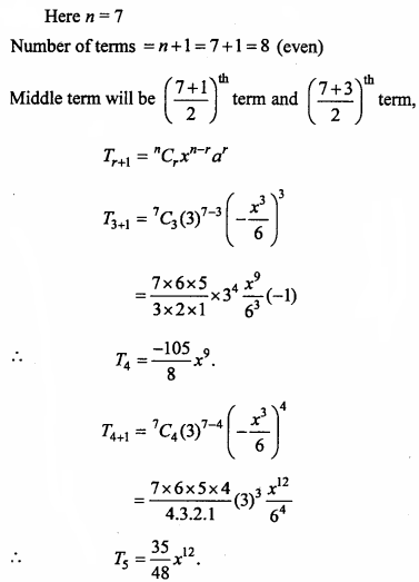 MP Board Class 11th Maths Important Questions Chapter 8 Binomial Theorem 10