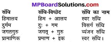 Class 10th Hindi Mp Board Solution MP Board Chapter 17