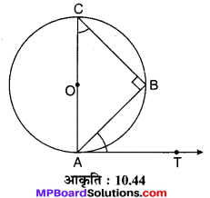 MP Board Class 10th Maths Solutions Chapter 10 वृत्त Additional Questions 29