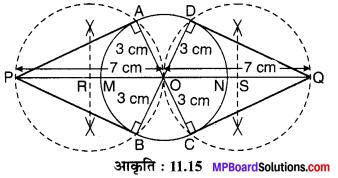 MP Board Class 10th Maths Solutions Chapter 11 रचनाएँ Ex 11.2 3