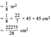 MP Board Class 10th Maths Solutions Chapter 12 वृतों से संबंधित क्षेत्रफल Ex 12.2 11
