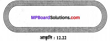 MP Board Class 10th Maths Solutions Chapter 12 वृतों से संबंधित क्षेत्रफल Ex 12.3 11