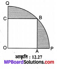 MP Board Class 10th Maths Solutions Chapter 12 वृतों से संबंधित क्षेत्रफल Ex 12.3 18