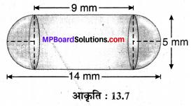 MP Board Class 10th Maths Solutions Chapter 13 पृष्ठीय क्षेत्रफल एवं आयतन Ex 13.1 8