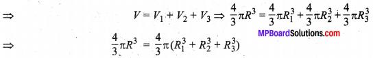 MP Board Class 10th Maths Solutions Chapter 13 पृष्ठीय क्षेत्रफल एवं आयतन Ex 13.3 2